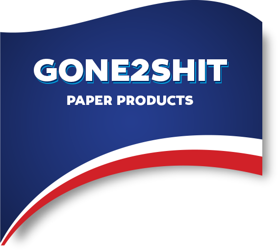 Gone2Shit paper Products