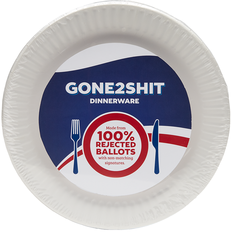 Gone 2 Shit plates