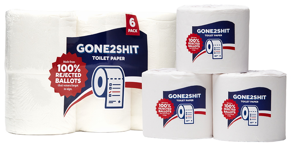 Gone 2 Shit toilet paper